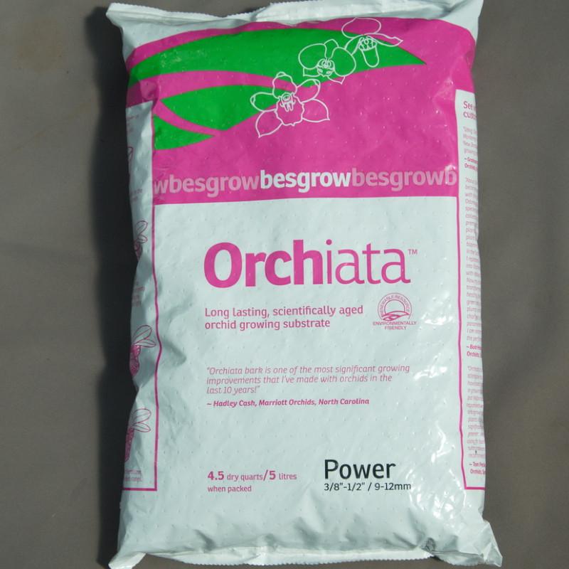 Substrat de rempotage des orchidées Orchiata Power 5 litres