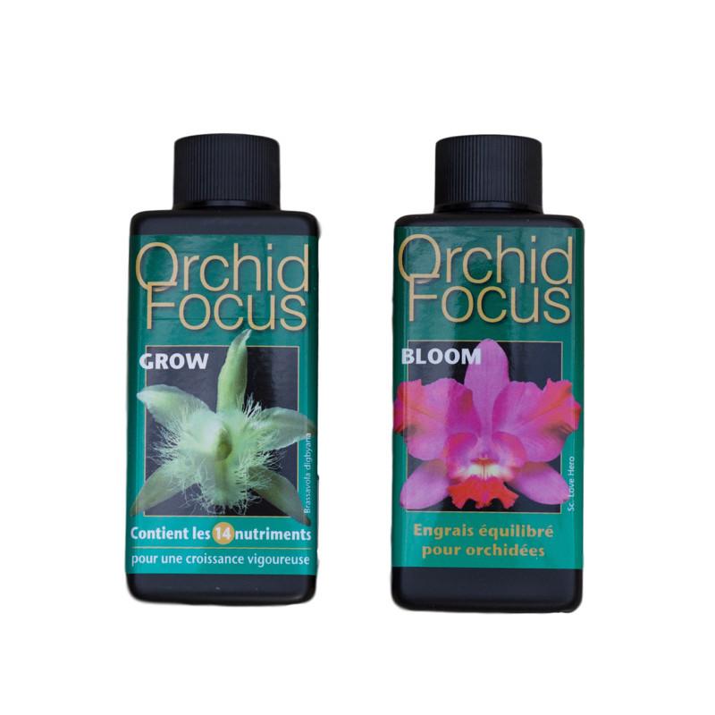 Kit complet d'engrais pour orchidées Orchid Focus
